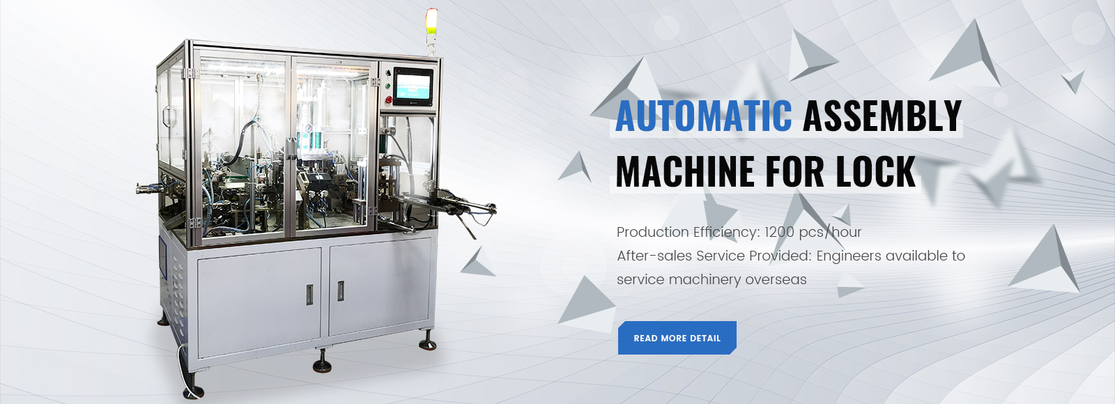 Automatic Assembly Machine For Lock